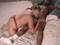 Cuckold chubby milf getting assfucked by 3 guys