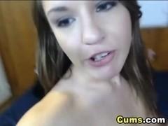 Cute Blonde Reaches an Intense Orgasm!