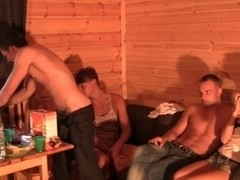 Hawt student party with anal sex
