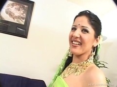 Indian Newbie Fucks On Camera