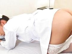 Hottest Japanese model Miina Minamoto in Fabulous JAV uncensored Masturbation scene