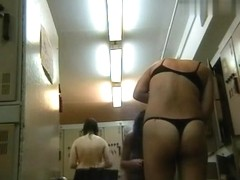 Hidden Camera Video. Dressing Room N 722