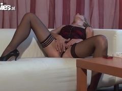 Incredible pornstars in Exotic Blonde, Mature porn clip