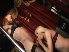 Exotic Amateur Shemale record with Masturbation, Stockings scenes