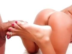 Amazing pornstar London Keys in hottest tattoos, blowjob xxx scene