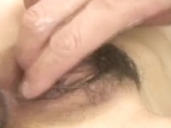 Japanese Shiho Kanow, 2 lads assult to her and cum inside