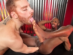 Race Cooper & Sebastian Keys in Barefoot & Fisted - ClubInfernoDungeon