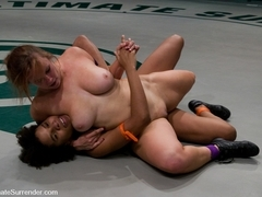 Bella 'the Annihilator' Rossi (2-0)Vsyana 'the Wildcat' Jordan (1-0) - Publicdisgrace