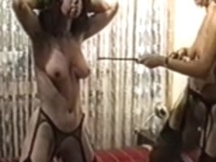 German domina punishes and uses her serf