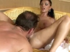 Romanian Pornstar Dark Angelika Screwed Hard
