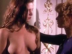 Brigitte Nielsen and Kimberley Kates in handcuffed heat