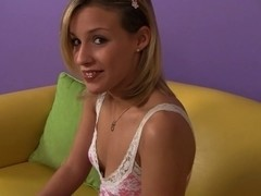Sinless Looking Legal Age Teenager Entreats For a Creampie