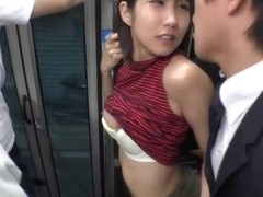 Bus Groping - Young Lady Molested 03