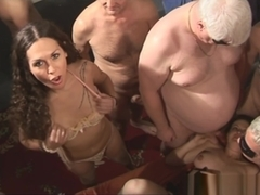 Nikki Montero, two old British hookers And studs British fuckfest