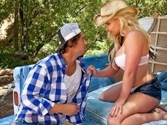 Phoenix Marie In Farm Girls Gone Bad, Scene 1