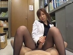 footjob spunk fountain anal panty nylons tugjob movie scene