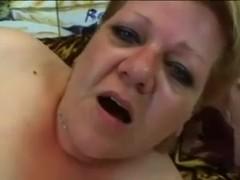 Chunky Granny Sucks and Copulates