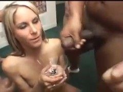 5 girls gargle & swallow 79 cumshots