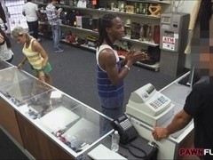 Black BF let the pawn man fuck her girl for being desperate