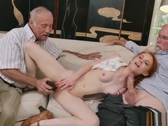 Bree olson fucks old guy and old man sucking cock and old