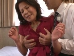Japanese AV Model is a hot mature babe getting it doggy style