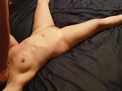 Tied up and tortured with tickling, pussy eating and fingering