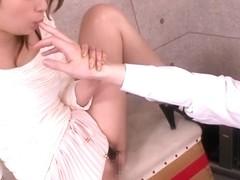 Nao Yoshizaki in Pantiless Sexual Teacher part 1.2