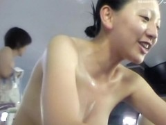 Wonderful tits view from the Asian girl in the shower dvd 03013
