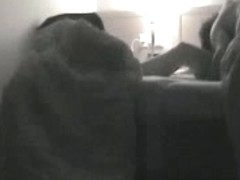 Voyeur sex clip shows two lovers shagging