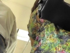 Great bus upskirts filmed by crazy guy with camera