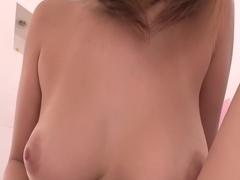 Fabulous Japanese model Asuka in Incredible JAV uncensored Creampie video