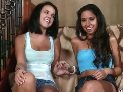 Lesbians Trinity St Clair And Dillon Harper