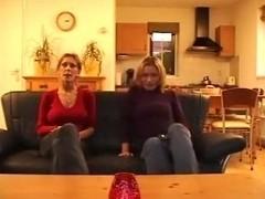 Astounding homemade casting call 3some