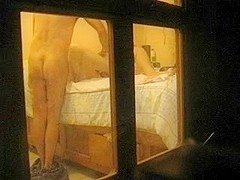 Hidden cam records sexual massage