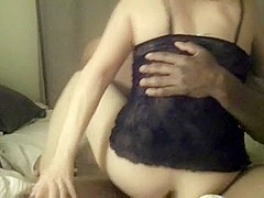 Real amateur couple sex tape in friends dorm room