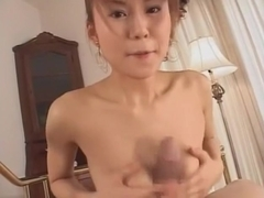 Best Japanese slut Megu Ayase in Hottest POV, Handjob JAV video