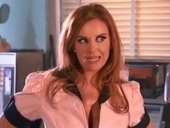 Redhead Milf Waitress Served BBC