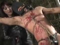 Natsuki Torture Femdom Mistress Outdoors