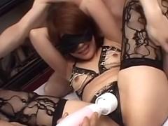 Crazy Japanese model Sara Nakamura in Amazing JAV uncensored Threesomes movie