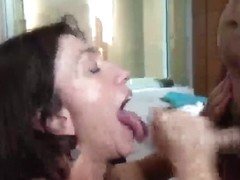 Cum Drinking Wench