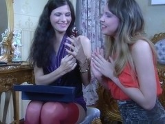 BackdoorLesbians Video: Keith A and Aubrey