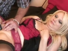 HandsOnOrgasms Video: Carmen K Red Lingerie