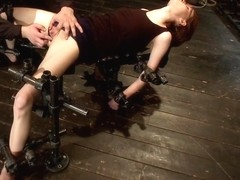 Kink fan gets her 1st shoot chooses Device as her first Pain is delivered Pleasure is extracted