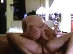 Mature experienced woman giving a blowjob and fucks her husband