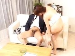 Hungry japanese pussy screwed hard by manhood in sex movie