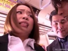 Risa Kasumi loveas a good public fuck