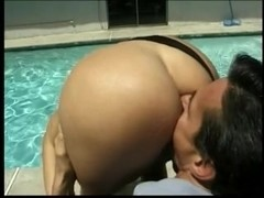 Butt Row: Eurostyle - Foursome with Peter North & Kelli Cage