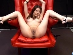 Rough toy insertion show for obedientIbuki