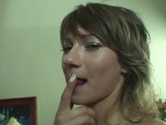 Very hot chick enjoys hard anal for the first time