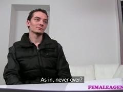 FemaleAgent: Virgin gets expert guidance from MILF